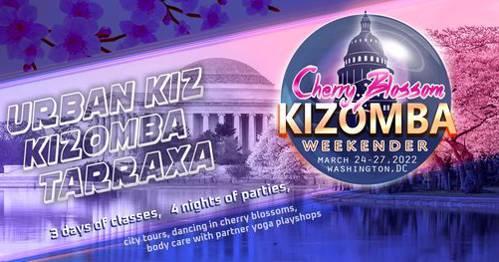 Cover DC Cherry Blossom Kizomba Weekender 2022